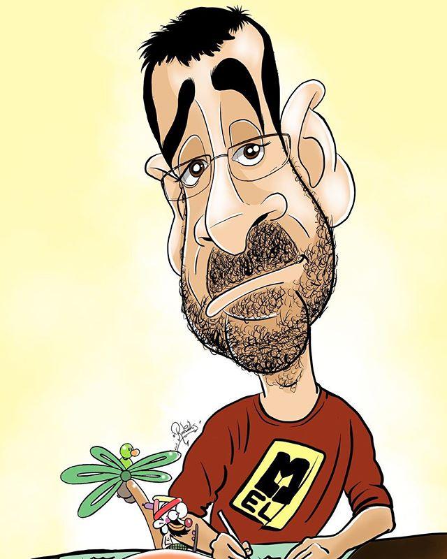 """Mel Prats, dibujante del Diario de Cádiz, de la revista satírica """"Orgullo y Satisfacción"""" entre otras muchas publicaciones, mago aficionado y sobre todo una persona estupendísima!!"""